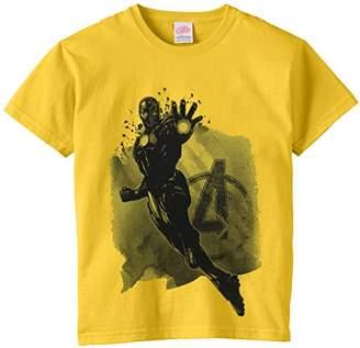 Marvel Boy's Avengers Assembles Iron Man Mono T-Shirt,(Manufacturer Size:X-Large)