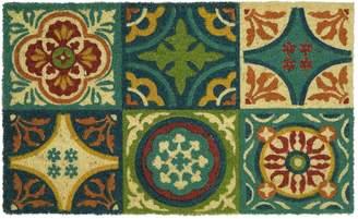 Mohawk Home Coir Tiles & Medallions Doormat - 18'' x 30''