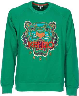 Kenzo Embroidered Logo Tigre Sweatshirt