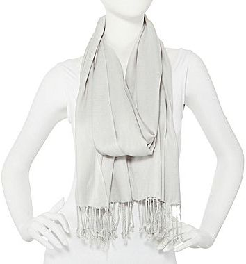 JCPenney Platinum or Sand Pashmina-Style Scarf
