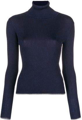 Marco De Vincenzo ribbed turtle neck sweater