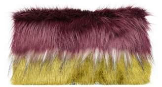 Dries Van Noten Eco-fur Clutch