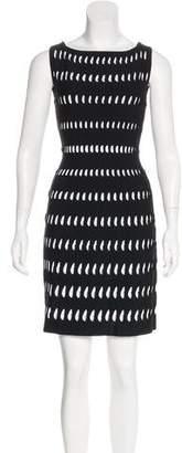 Alaia Sleeveless Laser Cut Dress