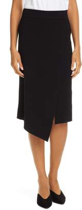 A.L.C. (エーエルシー) - A.L.C. Flannery Rib Knit Faux Wrap Skirt