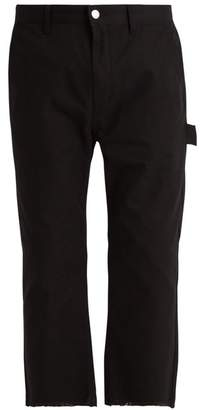 Helmut Lang Carpenter cotton-canvas cropped trousers