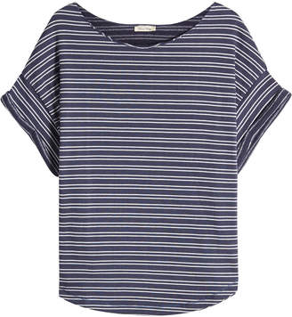 American Vintage Striped T-Shirt with Cotton