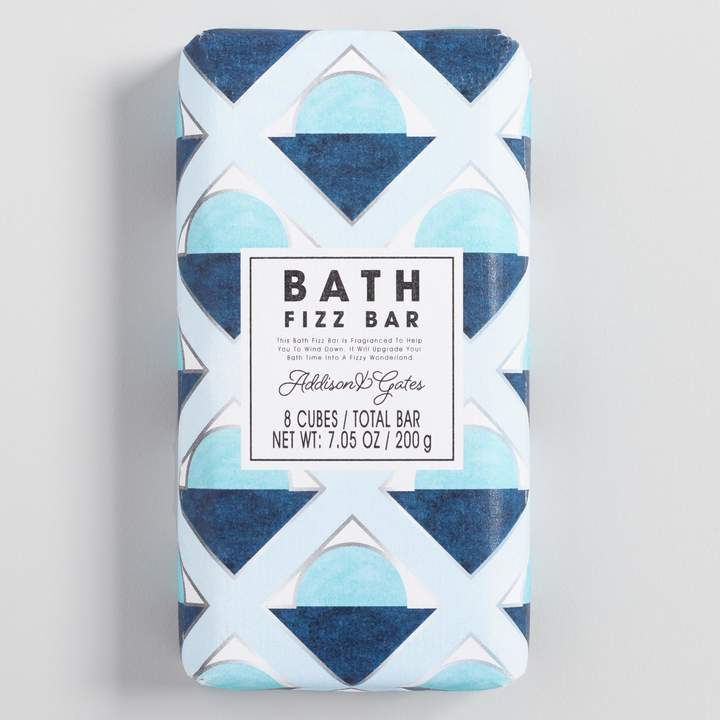 Cost Plus World Market A&G Deco Geo Gardenia and Lily Bath Fizz Bar Set of 2