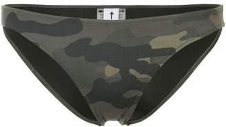 The Upside camouflage bikini bottoms