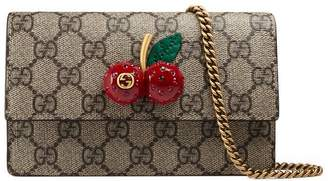Gucci GG Supreme mini bag with cherries