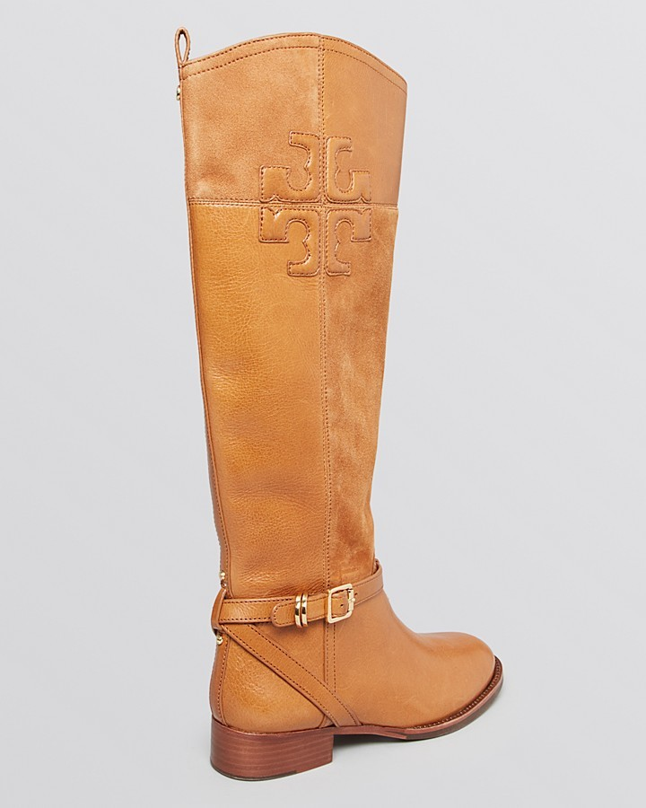 Tory Burch Riding Boots - Lizzie Flat
