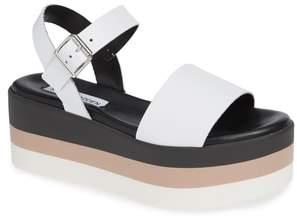 Steve Madden Holly Stripe Platform Sandal