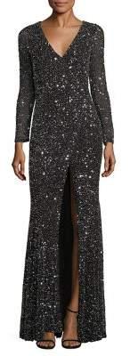 Rachel Gilbert Paola Embellished Gown