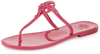 Tory Burch Colori Logo Jelly Thong Sandal $95 thestylecure.com