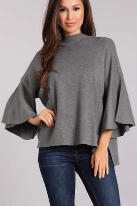 Blvd Mock Neck Sweater