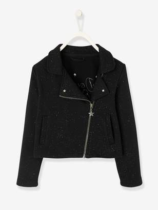 Vertbaudet Glittery Jacket for Girls with Sequins