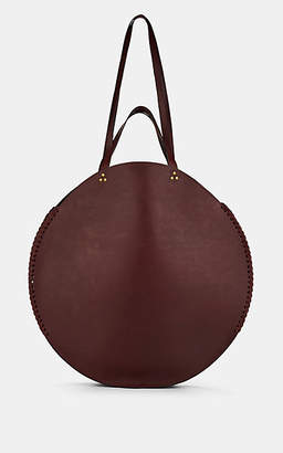 Jerome Dreyfuss Women's Hector Large Leather Circle Tote Bag - Wine
