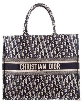 Christian Dior 2018 Oblique Book Tote