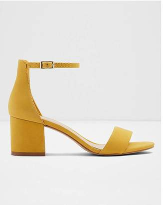 bf2e8889 Aldo Wide Fit Villarosa Leather Block Heels Wide