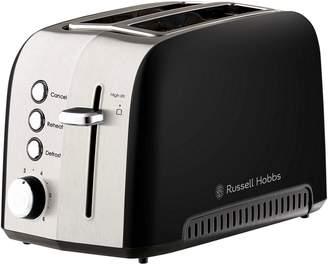 Russell Hobbs Heritage Vogue 2-Slice Toaster, Black