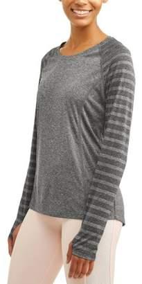 e9a0260d238d6 Avia Women's Core Active Long Sleeve Performance T-Shirt