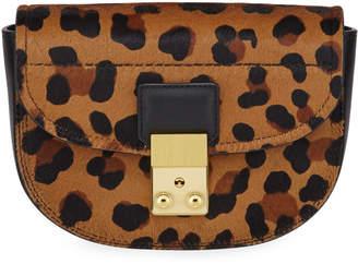 3.1 Phillip Lim Pashli Mini Saddle Leopard Belt Bag