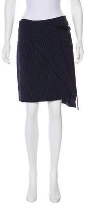 DKNY Wool Wrap Skirt