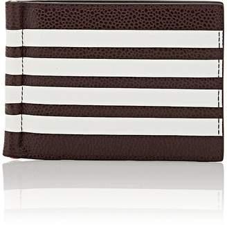 Thom Browne Men's Leather Money-Clip Billfold