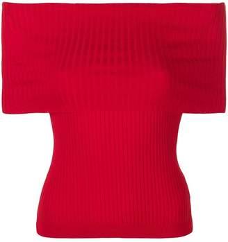Ralph Lauren off-shoulder ribbed top