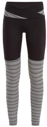 Track & Bliss - Paradise Performance Leggings - Womens - Black Multi