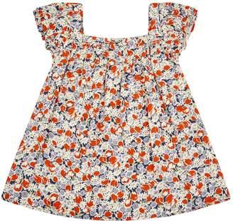 Ralph Lauren Floral Cap Sleeve Top