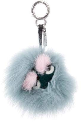 c482adaae8 ... new style pre owned at therealreal fendi lagoon bag bug charm ac15d  7f593 ...