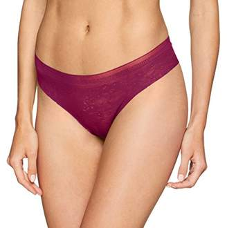 Sloggi Women's Zero Lace Hipstring String,6 (Size: X-Small)