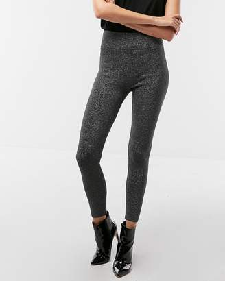 Express Metallic Sweater Leggings