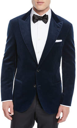 Brunello Cucinelli Men's Velvet Tuxedo Jacket