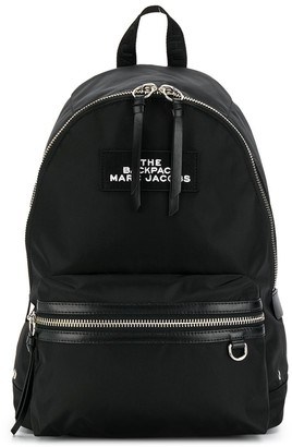 Marc Jacobs two-way zip closure backpack