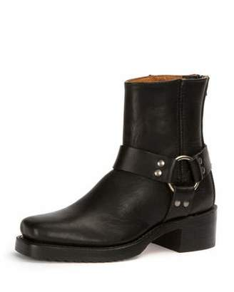 Frye Harness Grain Leather Boot, Black