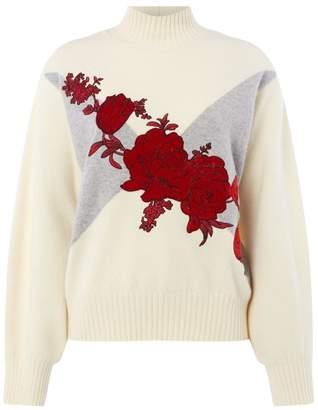 Sportmax Rasoio Floral Sweater