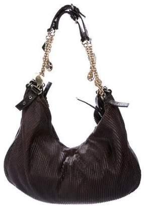 Stella McCartney Vegan Leather Pleated Hobo