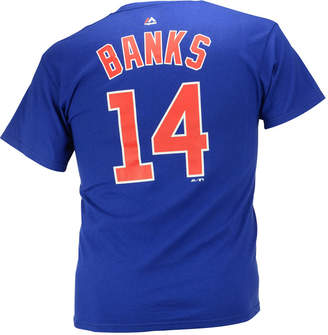 Majestic Men Ernie Banks Chicago Cubs Cooperstown Player T-Shirt