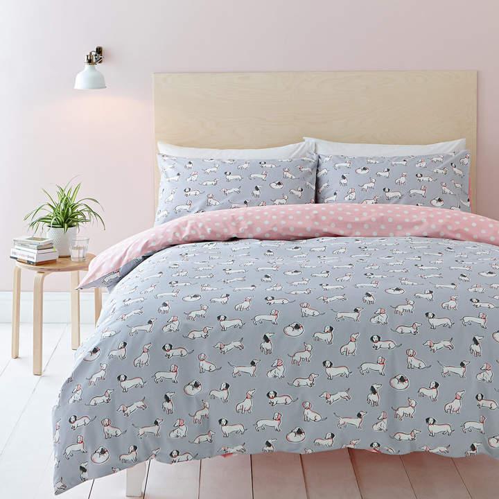 Mono Dog Bedding Set