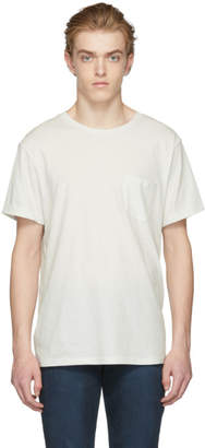 Frame Off-White Slouchy Pocket T-Shirt