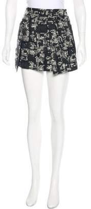 Marissa Webb Matelassé Mini Skirt