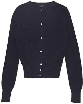 Raoul Navy Cotton Knitwear