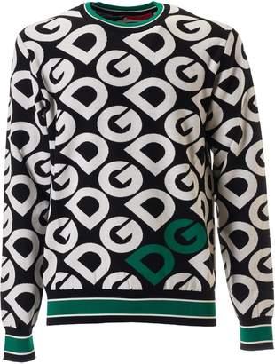 Dolce & Gabbana All Over Print Sweatshirt