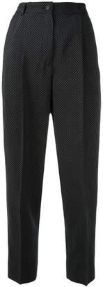 Dolce & Gabbana micro dots trousers