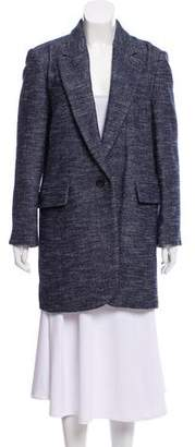 Etoile Isabel Marant Wool-Blend Knee-Length Coat