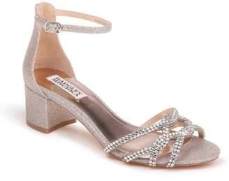Badgley Mischka Sonya Block Heel Sandal (Women)