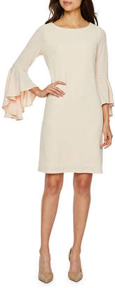 Ronni Nicole 3/4 Sleeve Shift Dress