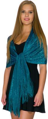 Petal Rose Shawls and Wraps for Evening Dresses, Wedding Shawl Wrap Fringes Scarf for Women