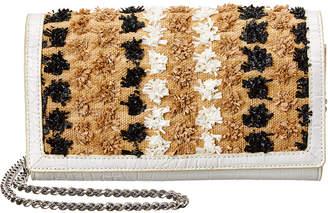 Sam Edelman Gina Straw Wallet On A Chain